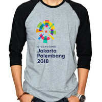 Kaos Distro Baju Tshirt Asian Games 2018 AG67