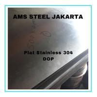 50 x 300 mm TEBAL 3 mm PLAT STAINLESS 304 POTONGAN | 5 x 30 cm