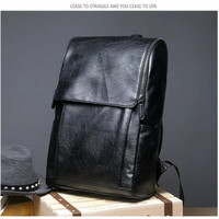 FRANK BAG tas backpack pria tas punggung ransel kulit cowok Laptop