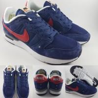 Sepatu Kets Nike Archive '83.M Suede Dark Blue Red Biru Tua Merah