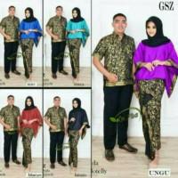 Couple Keluarga Kebaya Modern Sergaman Baju Jumbo GSZ Batwing Shinta