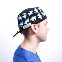 Doctors Scrub Authentic Headscrub Motif