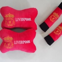 Bantal Mobil Exclusive 2 in 1 Club Liverpool