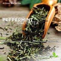 Artisan Tea Cafe - Green Tea Peppermint Breeze Teh Hijau Rasa Mint 50g
