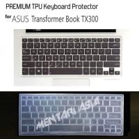 Keyboard Protector ASUS Transformer Book TX300 - PREMIUM TPU Clear