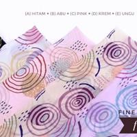 Kain sifon fine --FN 413-- Lebar 1.15 - harga per 1m