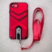 Hardcase Oppo F5 Case Military Gantungan Case Cover - Hitam