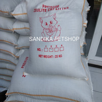 Pasir Kucing / Cat Litter PASIR ZEOLITE 25 KG KHUSUS GOJEK