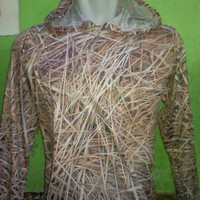 Baju camo hunting motif rumput