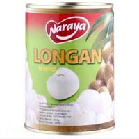 NARAYA LONGAN SYRUP/ Buah kaleng kelengkeng565gram