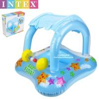 Baby Float with kanopi INTEX 56581 / Ban Renang Bayi + Pelindung UV