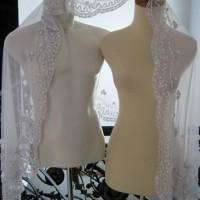 BAJU MURAH Kerudung akad nikah ijab kobul putih Veil kebaya pengantin