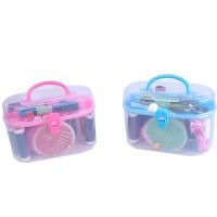 MINI Alat Set Jahit | mini Sewing Oval Set For Traveling