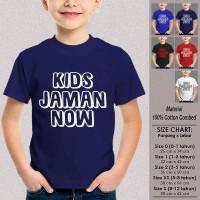 Kaos Baju Anak Tumblr SN-ASKTKT049 KIDS JAMAN NOW 1-12 Thn