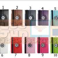 iPad Mini 4 Rotary Smart Flip Cover / Case (Hard)