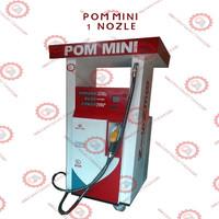Mesin Pom Mini Bensin Digital