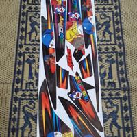 Striping lis sticker variasi mio sporty amore doraemon hitam