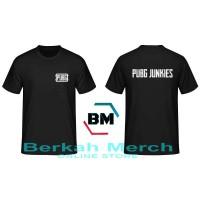 T-Shirt PUGB Junkies - Black