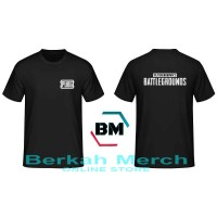 T-Shirt PUGB Battle Grounds - Black 02