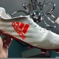TERMURAH Sepatu Bola Soccer Adidas Adizero F50 99 Gram White Solar Re