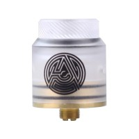 Artha RDA 24mm Atomizer - WHITE FROST [Clone]