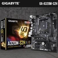 Gigabyte GA-A320M-S2H (AM4, A320, DDR4)