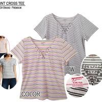 Atasan Wanita Kaos T-shirt Big Size Jumbo Europe Quality