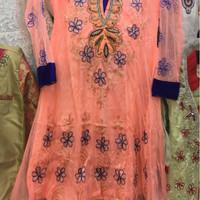 Baju Muslim anak perempuan. Baju gamis baju pesta India new model
