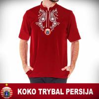 Baju Muslim Koko Trybal Bola Persija Jakarta