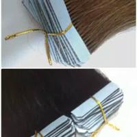 Rambut sambung PU tape 50 cm