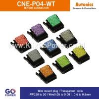 Autonics SENSOR CONNECTOR CNE-P04-WT