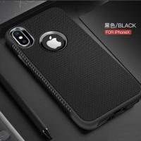 Oppo F5 / A73 / A79 Case Shockproof Anti Slip Slim Black Matte Casing