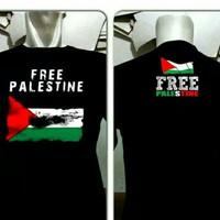 Kaos Free palestin / Tshirt oblong palestin / Baju pria