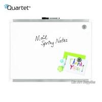 QUARTET White Frame Magnetic Board 43 x 58 cm (Papan Whiteboard)