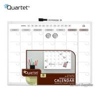 QUARTET White Frame Magnetic Planner Board 28 x 35.5 cm (Whiteboard)