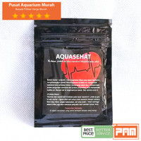 Aquasehat Bakteri Pengurai Aquascape Bakteri Penjernih Air Aquascape