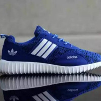 Sepatu adidas yeezy blue new model