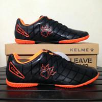 Sepatu Futsal Kelme Star 9 Black Orange 5501-03 Original BNIB