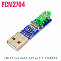 PCM2704 USB Sound Card Digital Hi-Fi Audio Decoder DAC Module