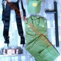 Seragam Linmas Lengkap / Baju Hansip/ Seragam Satpam/ Hansip Komplit