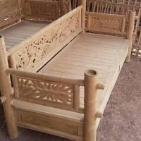 unik bale-bale ukir bambu kayu jati