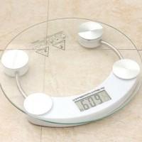 Timbangan Badan Digital Kaca Personal Body Weight Scale 180 kg 26 cm
