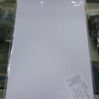 KERTAS PVC BAHAN ID CARD A4 ISI 50 SETS BAHAN TEBAL IMPORT