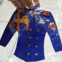 Gantungan Baju Unyil Akpol Warna|miniatur baju akpol warna|Miniatur
