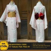 BAJU TERBARU Yukata Kimono Kostum Wanita Jepang Cosplay- Yukata
