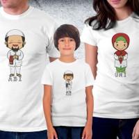 Baju Couple family - Kaos Lebaran - Muslim Family boy