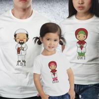Baju Couple family - Kaos Lebaran - Muslim Family girl