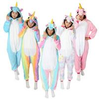 kostum piyama baju tidur unicorn dewasa pajama cosplay costume rainbow
