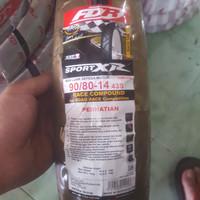 BAN FDR SPORT XR SOFT COMPOUND 90/80-14 RACE TIRE