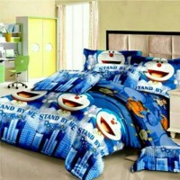 Sprei atau Bad cover Doraemon